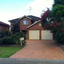 Rental info for Large four bedroom family home