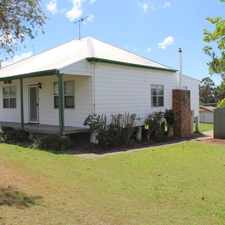 Rental info for AFFORDABLE HOME in the Cessnock area