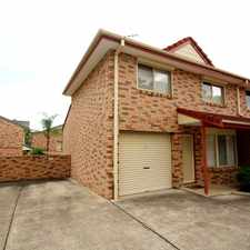 Rental info for 2 Bedroom Townhouse in the Bankstown area