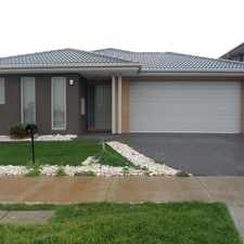 Rental info for Complete 4 Bedroom Home in Allura Estate in the Melbourne area