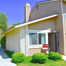 Rental info for 14875 Campus Park Drive #D in the Simi Valley area