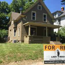 Rental info for 2236 Pierce Street Northeast #2 in the Windom Park area