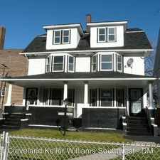 Rental info for 10519 Grantwood Avenue - 10519 10519 Grantwood Avenue - 10521 in the Glenville area