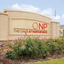Rental info for Oaks of Northpointe