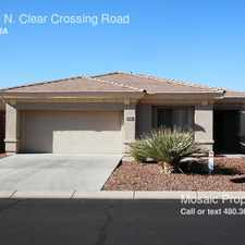 Rental info for 41430 N. Clear Crossing Road
