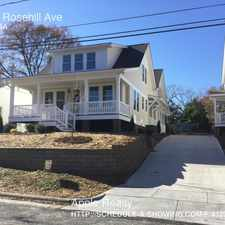 Rental info for 911 A Rosehill Ave in the Durham area