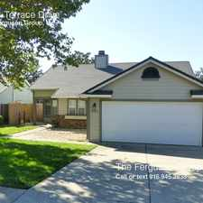 Rental info for 5724 Terrace Drive in the 95765 area
