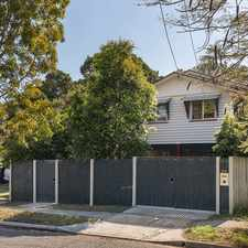 Rental info for Family home close to park in the East Brisbane area