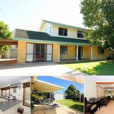 Rental info for FAMILY HOME WITH VIEWS! in the Hervey Bay area