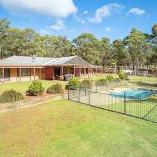 Rental info for Oakdale rural retreat - change of lifestyle! in the Sydney area