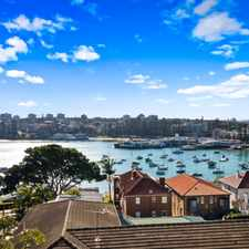 Rental info for Modern, Unfurnished, Two Bedroom, Apartment with Panoramic Harbour Views in the Sydney area