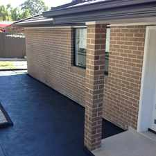 Rental info for First Class 3 Bedroom Granny Flat in ABBOTSBURY ..... in the Edensor Park area