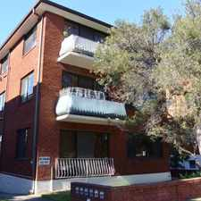 Rental info for Sort after 2 bedroom unit in the Sydney area