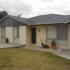 Rental info for CUTE AND COSY WITH LARGE BACKYARD in the Marangaroo area
