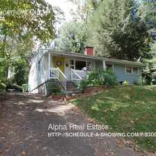 Rental info for 74 Brucemont Circle