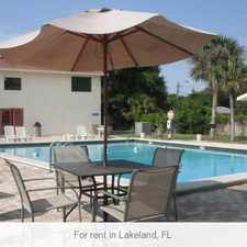 Rental info for 1 bedroom Apartment - Absolutely the best value in Lakeland.