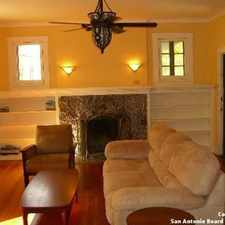 Rental info for House for rent in San Antonio. Washer/Dryer Hookups! in the Monte Vista area