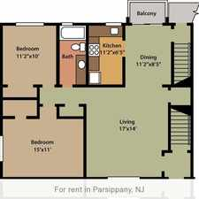 Rental info for 2 bedrooms Apartment - Camelot Gardens in Parsippany. Cat OK!