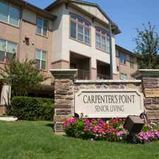 Rental info for Carpenter's Point Active Adult Living in the Dallas area