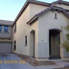 Rental info for 18450 West Dawn Drive