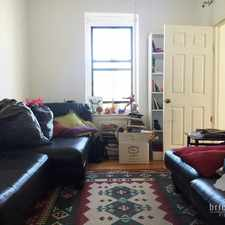 Rental info for St Nicholas Ave in the East Harlem area