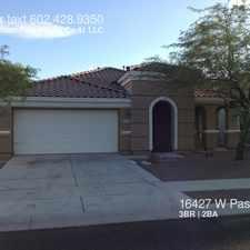 Rental info for 16427 W Paso Trail