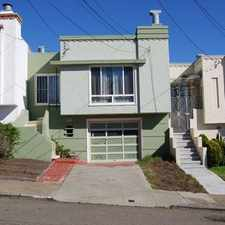 Rental info for 3 bedrooms House - This is a single family home located close to CCSF & SFSU. in the Merced Heights area