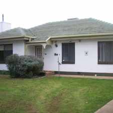 Rental info for FAMILY HOME WITH LARGE REAR YARD in the Adelaide area
