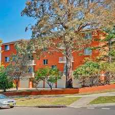 Rental info for APPLICATION APPROVED DEPOSIT TAKEN in the Gladesville area