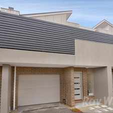 Rental info for A brand new 2 bedroom townhouse near central Boronia
