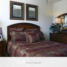 Rental info for Come and experience Reno's most prestigious address.