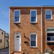 Rental info for End of Row townhome with Lots of Light. in the Upper Fells Point area
