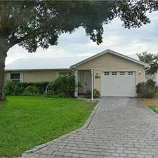 Rental info for Single Family Home Home in The villages for Owner Financing
