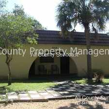 Rental info for 3714 50th Ave N in the St. Petersburg area