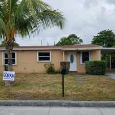 Rental info for 3/2 home for rent, all tile, central a/c, laundry hookups, carport, call Lynn 305.8907450