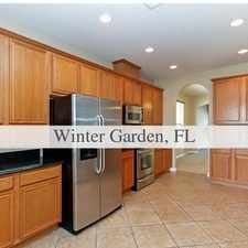 Rental info for AVAILABLE IMMEDIATELY. 2 Car Garage! in the Winter Garden area