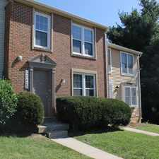 Rental info for The Townes of Gaithersburg/Germantown
