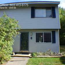 Rental info for 616 Portland St