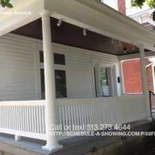 Rental info for 1933 Cleneay Avenue in the Cincinnati area
