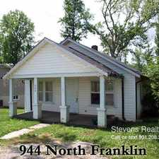 Rental info for 944 N Franklin Ave