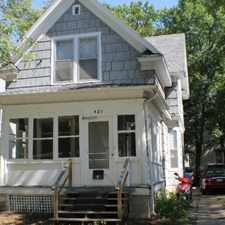 Rental info for 421 S Millls St in the Greenbush area