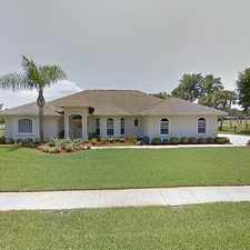 Rental info for Single Family Home Home in Titusville for For Sale By Owner