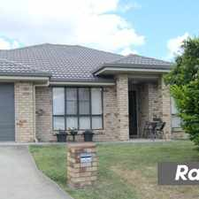 Rental info for Four Bedroom Family Home In Popular Raceview Estate, Large Fenced Yard, Ducted Aircon in the Brisbane area