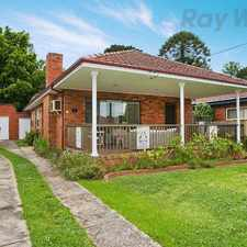 Rental info for APPLICATION APPROVED AND DEPOSIT TAKEN in the Hunters Hill area