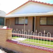 Rental info for Affordable neat & tidy home in quiet area in the Port Augusta area