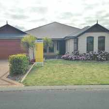Rental info for FEEL THE SERENITY IN TREENDALE IN THIS SPACIOUS HOME - AIR CONDITIONING - PETS CONSIDERED!! in the Australind area
