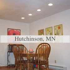 Rental info for Two bedroom one bath apartment in HUTCHINSON MN.