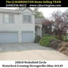 Rental info for Ohio Real Estate-20810 Wakefield Cir(Strongsville, Ohio 44149)(440)336-0612 or WWW.CJHARRINGTON.COM