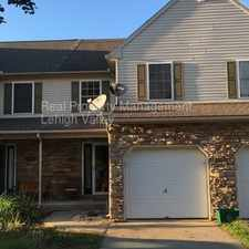 Rental info for Beautifully well maintained town home available today!