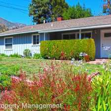 Rental info for 4806 Pennsylvania Ave in the La Crescenta-Montrose area